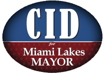 Manny Cid for Mayor of Miami Lakes